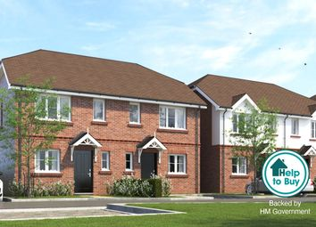 Thumbnail 3 bed semi-detached house for sale in Denton Close, Frimley Road, Ash Vale, Surrey