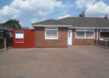 Thumbnail 3 bedroom bungalow for sale in Wordsworth Drive, Crewe