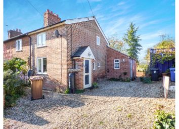 Thumbnail 2 bed end terrace house for sale in Valley Road, Sudbury