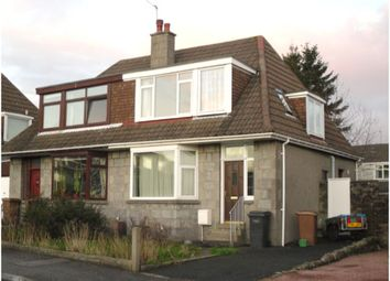 Thumbnail 3 bed semi-detached house to rent in Braeside Place, Aberdeen