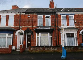 Thumbnail 3 bed terraced house for sale in Raglan Street, Hull