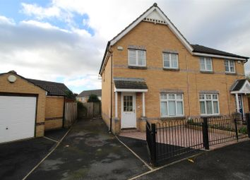 Thumbnail 3 bed semi-detached house for sale in Greenway Drive, Allerton, Bradford