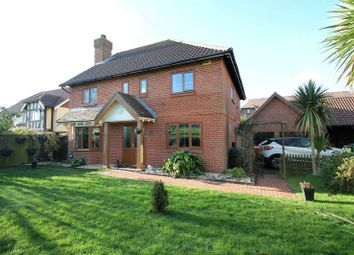 Thumbnail 4 bed detached house for sale in Curlew Place, Hawkinge, Folkestone