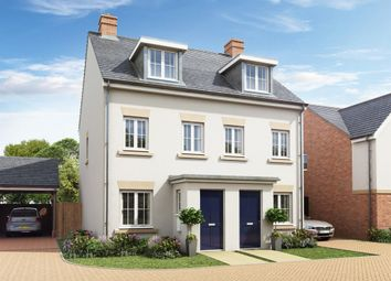 "Thumbnail 3 bed semi-detached house for sale in ""The Souter"" at Rattle Road, Stone Cross, Pevensey"