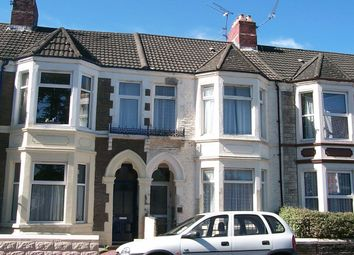 Thumbnail 2 bed flat to rent in Clun Terrace, Cathays, Cardiff