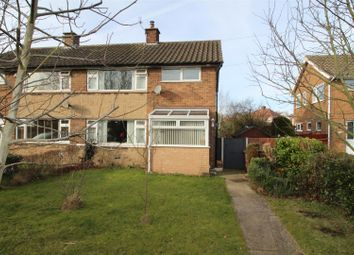 Thumbnail 3 bed semi-detached house for sale in Arthur Short Close, Whitwell, Worksop