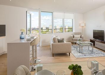 "Thumbnail 2 bedroom flat for sale in ""Lombard Wharf"" at Lombard Road, Battersea, London"