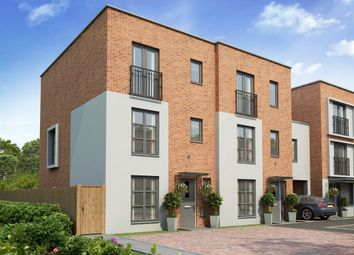 "Thumbnail 4 bedroom town house for sale in ""The Wolvesey "" at Balmoral Close, Northampton"