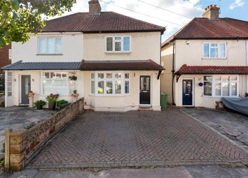 Thumbnail Semi-detached house for sale in Gander Green Lane, Cheam, Sutton