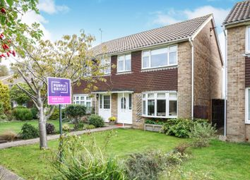 Thumbnail 3 bed semi-detached house for sale in The Paddocks, Lancing