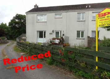 Thumbnail 4 bed semi-detached house for sale in East Cluden Village, Dumfries