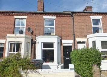 Thumbnail 2 bedroom terraced house for sale in Beaconsfield Road, Norwich