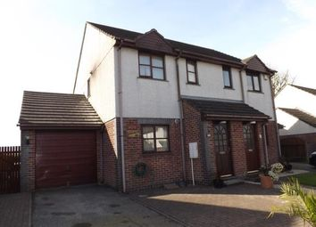 Thumbnail 2 bed semi-detached house for sale in St. Columb, Cornwall
