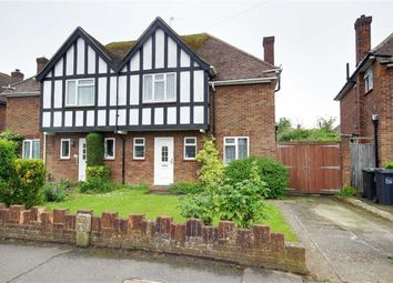 Thumbnail 3 bed semi-detached house for sale in Nelson Road, Goring-By-Sea, Worthing, West Sussex