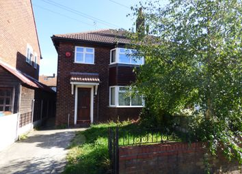 Thumbnail 3 bedroom semi-detached house for sale in Gawsworth Close, Stockport