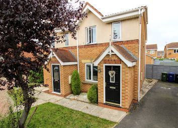 Thumbnail 2 bed semi-detached house for sale in Hyde Park Close, Scartho Top, Grimsby, North East Lincolnshire