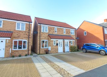 Thumbnail 2 bed semi-detached house for sale in Miller Close, Hethersett, Norwich