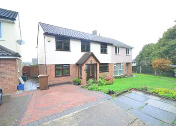 Thumbnail 4 bed semi-detached house to rent in Hillyfield Close, Strood, Rochester
