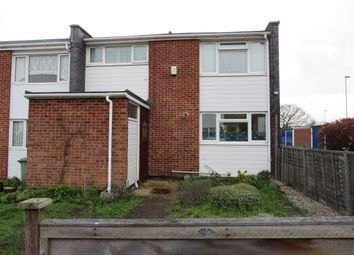 Thumbnail 3 bedroom end terrace house for sale in Bowers Avenue, Norwich