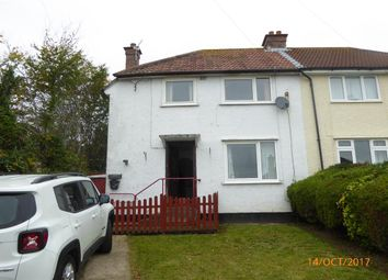 Thumbnail 3 bed semi-detached house for sale in Hill Road, Worle, Weston-Super-Mare