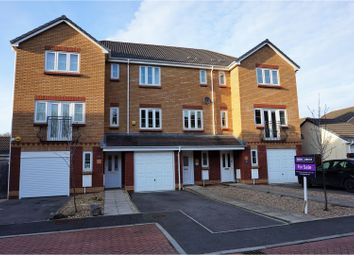 Thumbnail 3 bed terraced house for sale in Wyncliffe Gardens, Cardiff