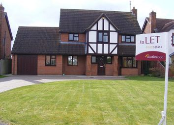 Thumbnail 4 bed detached house to rent in Lambourne Way, Heckington, Sleaford