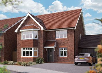 "Thumbnail 5 bed link-detached house for sale in ""The Oxford"" at Campton Road, Shefford"