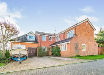 Thumbnail 6 bed detached house for sale in Brerewood, Earley, Reading