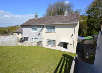 Thumbnail 2 bed semi-detached house for sale in Frontfield Crescent, Plymouth, Devon