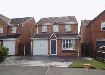 Thumbnail 3 bed detached house to rent in Jupiter Way, Meadowcroft Park, Stafford