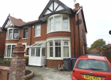 Thumbnail 4 bed semi-detached house for sale in Newton Drive, Blackpool