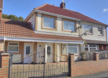 Thumbnail 3 bed semi-detached house for sale in Hollymount Square, Bedlington