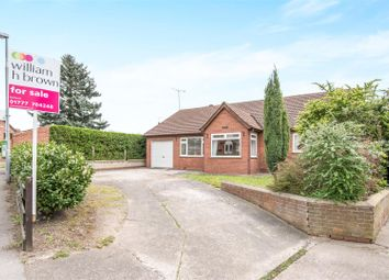 Thumbnail 3 bed detached bungalow for sale in Stockwith Road, Walkeringham, Doncaster