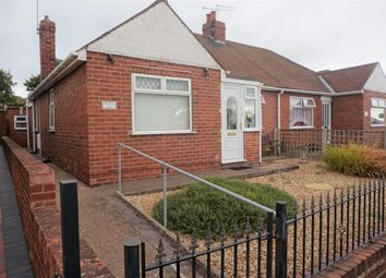 Thumbnail 2 bed semi-detached bungalow for sale in Eyre Street, Creswell, Worksop