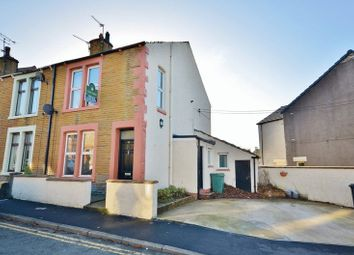 Thumbnail 2 bed end terrace house for sale in Causeway Road, Seaton, Workington