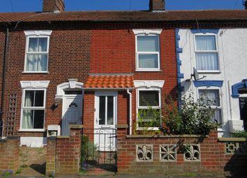 Thumbnail 2 bedroom terraced house for sale in Bertie Road, Norwich