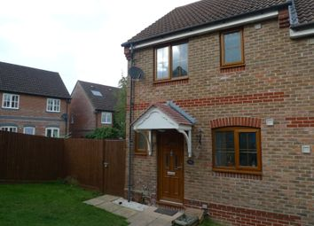 Thumbnail 2 bed semi-detached house to rent in Marston Drive, Newbury