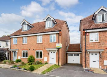 Thumbnail 3 bed semi-detached house for sale in Orchard Close, Burgess Hill