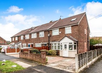 Thumbnail 4 bed end terrace house for sale in Lytham Road, Flixton, Manchester, Greater Manchester
