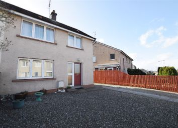 Thumbnail 2 bed semi-detached house for sale in Croft Avenue, Dunning, Perth