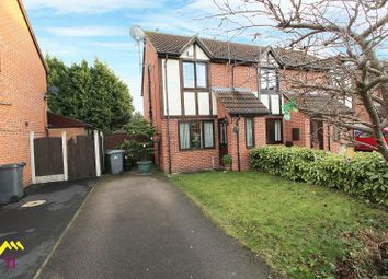 Thumbnail 2 bed semi-detached house to rent in Arlott Way, Edlington, Doncaster