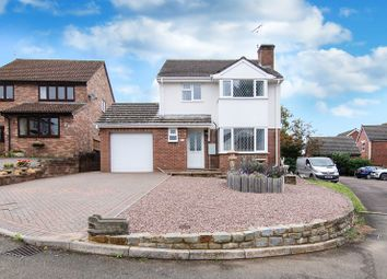 Thumbnail 4 bed detached house for sale in Brookmead, Ross-On-Wye