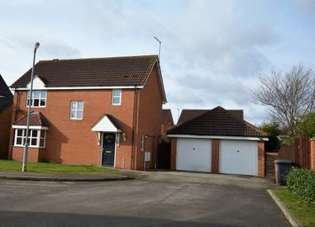 Thumbnail 3 bed detached house for sale in Baulmsholme Close, Northampton