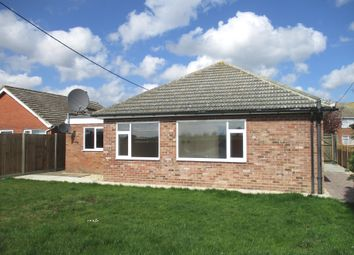Thumbnail 3 bed detached bungalow to rent in The Common, Freethorpe, Norwich