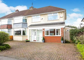 Thumbnail 4 bed semi-detached house for sale in Brown Lane, Heald Green, Cheadle, Cheshire