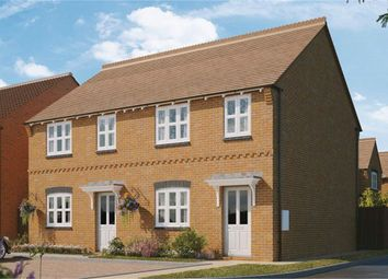Thumbnail 3 bed semi-detached house for sale in Baker Crescent, Wingerworth, Chesterfield, Derbyshire
