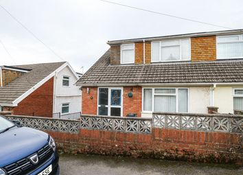 Thumbnail 4 bed semi-detached house for sale in Worcester Close, Heolgerrig, Merthyr Tydfil