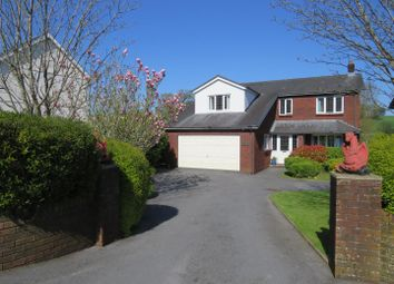 Thumbnail 4 bed detached house for sale in Trosserch Road, Llangennech, Llanelli