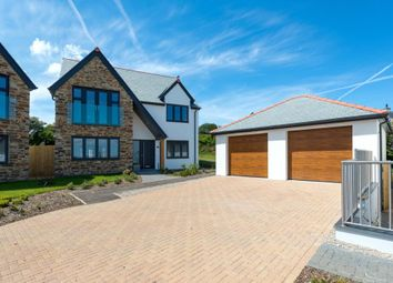 Thumbnail 3 bed detached house for sale in Bellier's Close, St Ives, Cornwall