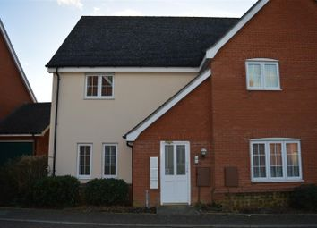 Thumbnail 2 bedroom flat for sale in Tyrrell Crescent, South Wootton, King's Lynn